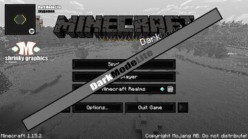 DarkModeLite - GUI-TEXTURE-PACK 1.14.x Minecraft Texture Pack