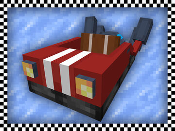 Race Boat Minecraft Texture Pack