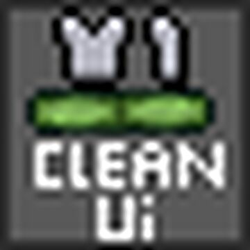clean UI (armour + bars) Minecraft Texture Pack