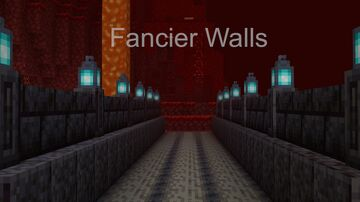 Fancier Walls (1.16 and lower) Minecraft Texture Pack