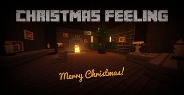 Christmas Feeling [1.16.4] - Tree Balls, Plantable Candy Canes, Candles, Santa Hat, Ice Skates, Cups and more Minecraft Texture Pack