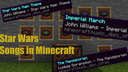 Star Wars Songs for Minecraft Java Minecraft Texture Pack