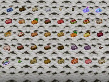 Food Ingots Minecraft Texture Pack