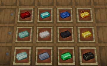 Ingots+ (Level 20 Celebration) Minecraft Texture Pack