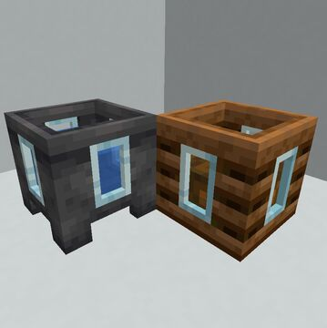 Composter and Cauldron Side Windows Minecraft Texture Pack