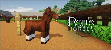 Rou's Horses Minecraft Texture Pack