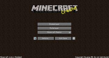 Minecraft Beta Main Menu! Minecraft Texture Pack
