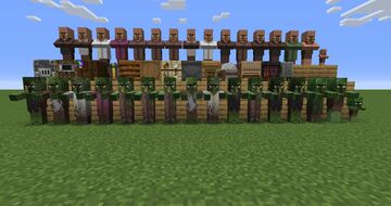 Old Villagers Minecraft Texture Pack
