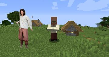medieval villagers Minecraft Texture Pack