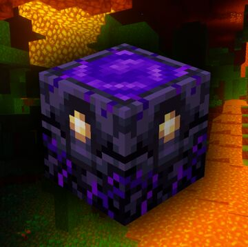 Animated Crying Obsidian Minecraft Texture Pack