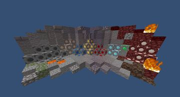 Obvious Ore 1.13+ (Efficient Survival Minipack) Minecraft Texture Pack