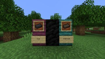 Coal and Charcoal Ingots 1.16.1 Minecraft Texture Pack