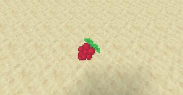 Sweet Berries to Raspberries Minecraft Texture Pack
