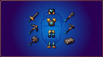 VbD Gold & Diamond Netherite (Legacy) Minecraft Texture Pack