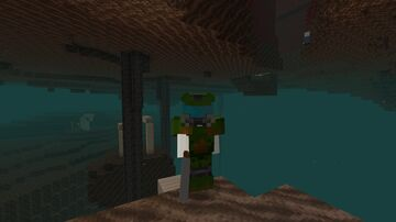DOOM Netherite Armor and 3D Shotgun Minecraft Texture Pack