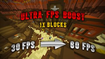 ULTRA FPS BOOSTER [1X BLOCKS OVERLAY] [1.8-1.16] Minecraft Texture Pack