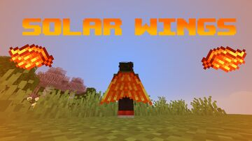 Solar Wings from Terraria! Minecraft Texture Pack