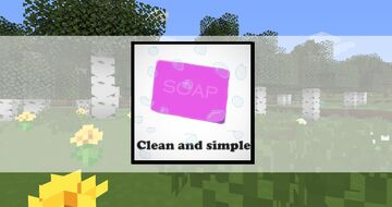 Clean and simple (very incomplete) Minecraft Texture Pack