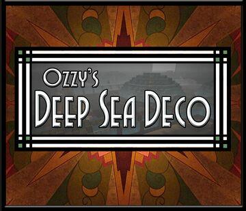 Ozzy's Deep Sea Deco - Art Deco, Steam Punk, CTM Minecraft Texture Pack