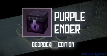 Purple Ender | Bedrock Edition Minecraft Texture Pack