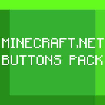 Minecraft.net Buttons Pack! (Bedrock) Minecraft Texture Pack