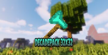 DECADEPACK 32x32 OFFICIAL DISCONTINUED Minecraft Texture Pack