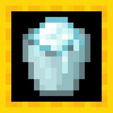 [Programmer Art] Cold Bucket [1.17 Snapshots] Minecraft Texture Pack