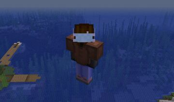 Covid19 Mask Texture Pack 1.14, 1.15, 1.16. Comaptible! Minecraft Texture Pack