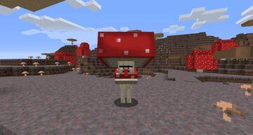 Mushroom Villagers! Minecraft Texture Pack