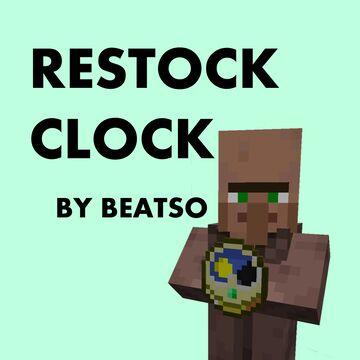 Restock Clock Minecraft Texture Pack