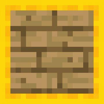 [Programmer Art] Slab Version of Planks [1.16+] Minecraft Texture Pack