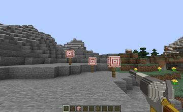 Guns for Bow and Crossbow ( wild west version ) + 3D Swords Minecraft Texture Pack