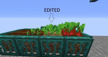 Greenier Crops Minecraft Texture Pack