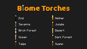 Pablo's Biome Torches Minecraft Texture Pack