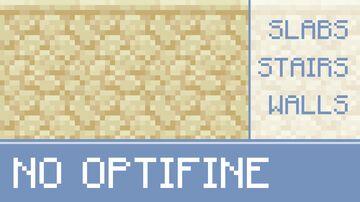 Vanilla Connected Sandstone Minecraft Texture Pack