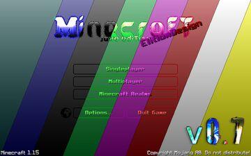 🎨 EScraft: GUI - Transparent - RGB ☚v0.7 | 1.15+☛ (soon all color) Minecraft Texture Pack