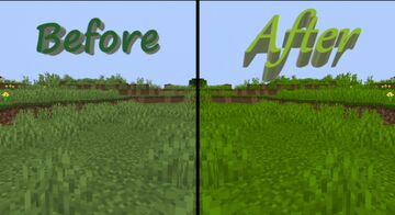 Greener Greens Mini-Pack 1.15 - Make Minecraft Feel More Alive! Minecraft Texture Pack