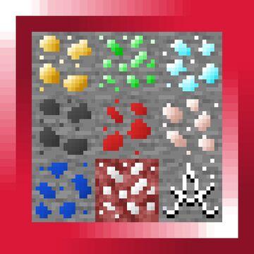 Varied Minerals Minecraft Texture Pack