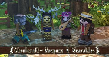 Ghoulcraft [Weapons & Wearables] Pack (7-6-20) Minecraft Texture Pack