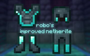 Robo's Improved Netherite Minecraft Texture Pack