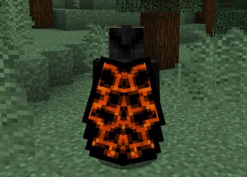 Animated Infernal Cape Elytra Minecraft Texture Pack