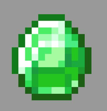 Emerald Items 1.15+  (Supports 1.16.1) Minecraft Texture Pack