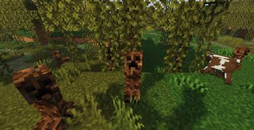 Creepers + 1.2.1 Minecraft Texture Pack