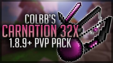 CARNATION 32x - FPS BOOST - 1.8.9+ Minecraft Texture Pack
