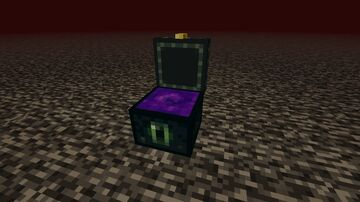 Nether Portal Ender Chest Minecraft Texture Pack