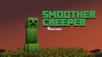 Smoother Creeper Minecraft Texture Pack