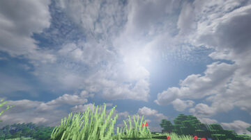 Realistic Sky Minecraft Texture Pack