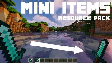 Mini Items Minecraft Texture Pack