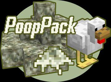 PoopPack - Diorite to Bird Poop Texture Pack [1.15] Minecraft Texture Pack