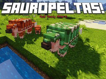 [Dino] Sauropeltas - The Cretaceous Hammer! Minecraft Texture Pack